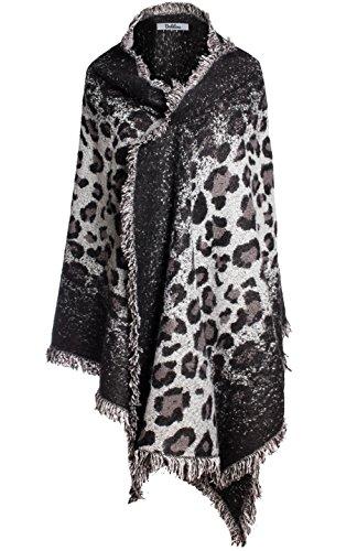 Black Wool Leopard - 3