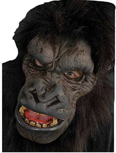 UHC Realistic Gorilla Ape Theme Party Latex Adult Halloween Costume Mask -