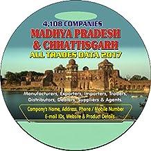 Madhya Pradesh & Chhattisgarh Business & Industrial Companies Data