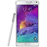 Samsung Samsung Galaxy Note 4 SM-N910 Factory Unlocked International Model, White, Retail Packaging