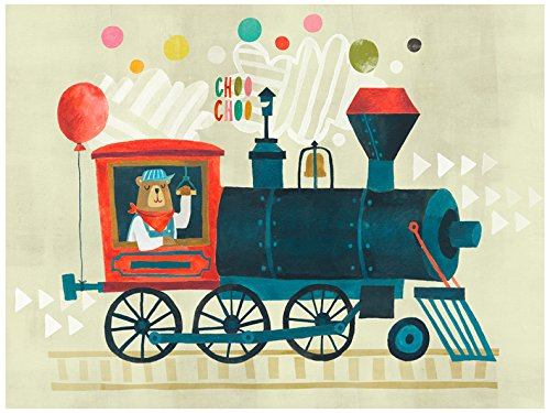 Baby Irene Four Poster (BR &Nameinternal - Bear Choo 24x18 canvas Wall Art, by Irene Chan)