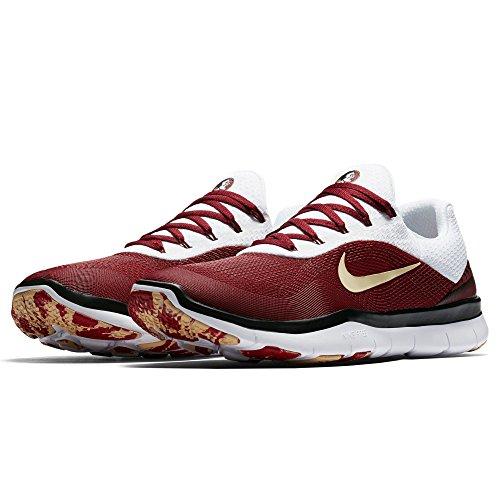 Nike Florida State Seminoles Free Trainer V7 Settimana Zero Collezione Scarpe College - Taglia Uomo 9,5 M Us
