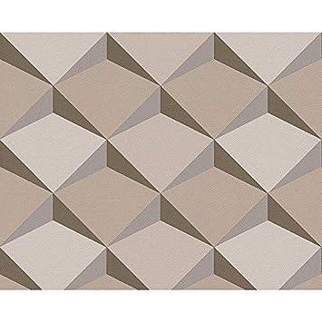 As Creation Papier Peint Non Tisse Texture Abstrait Effet 3d Motif