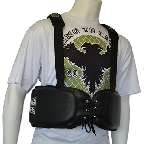Boxing Trainers Rib Protector, Light trainers vest for MMA, Muay Thai, Martial Arts by Ring to Cage