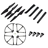 Quadcopter Original Propellers Set-Tokky Spare Parts Sets Contains Propellers Protective Frames Landing Skid for Bugs 3 Quadcopter
