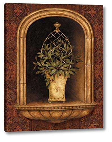 - Olive Topiary Niches II by Pamela Gladding - 30