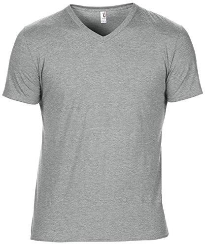 Anvil - Camiseta - para hombre gris