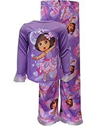 AME Sleepwear Little Girls' - Dora Purple Pajamas