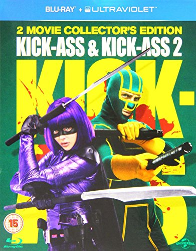 Kick Ass   Kick Ass 2  Region Free   Blu Ray