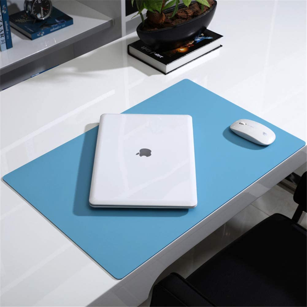 LL-Coeur XXL Leather Mouse Pad Gaming Keyboard Mat Waterproof Table Mat Black, 1200 x 600 x 2.8 mm