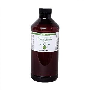 LorAnn Green Apple Super Strength Flavor, 16 ounce bottle