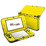 Solid State Yellow Design Decal Skin Sticker for Nintendo 3DS XL (2015) (Matte Satin)