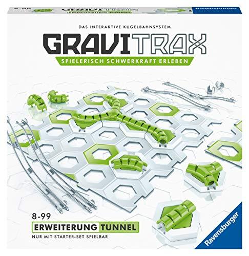 GraviTrax- Circuito – Expansión túnel, Color carbón (Ravensburger Spieleverlag 27614)