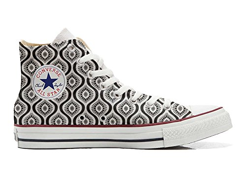 All Personalizados Customized Zapatos Artesano producto Paisley Star Wave Converse dwx1Ipfd