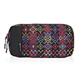Hynes Eagle Cord Organizer Small Electronics Case Gadget Pouch Phone Accessories Storage Bag, Southwestern