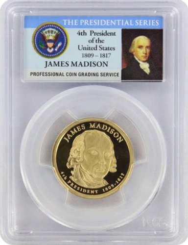 2007 Madison Presidential S Proof Presidential Dollar PR-69 PCGS ()