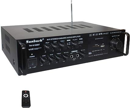 Sistema de Amplificador de Karaoke inalámbrico Bluetooth Home ...