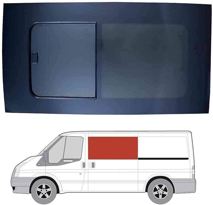 Mano izquierda ventana abatible para puerta corredera, tintado oscuro Ford Transit (2000 – 2014) [SWB]: Amazon.es: Coche y moto