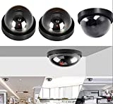 Fake Dummy Camera with LED Sensor Light 4 Packs
