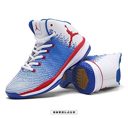 Automne Baskets Homme Printemps Bleu Nouveaux Montantes Antidrapant Pour L'usure Chaussures Chaussure 2018 Rsistant De Basketball xHB0wznxqX