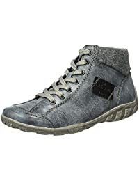 Rieker Women Ankle Boots blue, (ozean/granit/schwarz) L6540-14