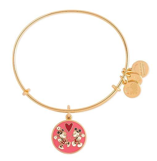 Amazon Com Mickey Minnie Mouse Love Alex Ani Charm Bracelet
