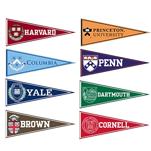 - Ivy League Conference College Pennant Set