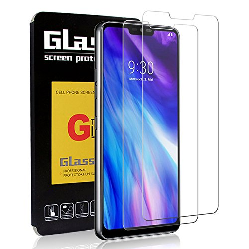 [2 Pack] OuTera LG G7 ThinQ Screen Protector Tempered Glass, Anti Scratch, Bubble Free with Lifetime Replacement Warranty