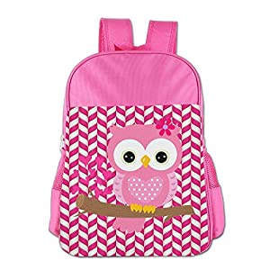 Mokjeiij Baby Girl Owl On A Branch Unisex Girls Boys School Backpack Children's