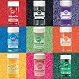Wilton Master Colored Sugars Set (Includes all 9 Wilton Colored Sugars in 3.25 Ounce Bottles)