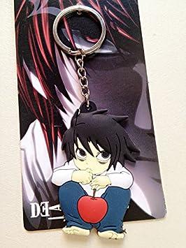 Death Note L SD PVC Llavero Figura Modelo colgante llavero ...