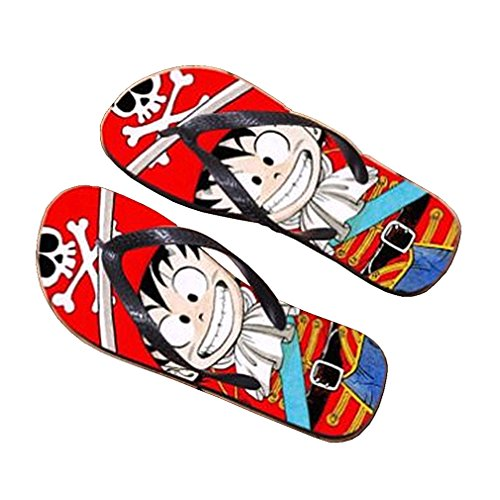 Bromeo Dragon Ball Anime Unisex Flip Flops Chanclas 911