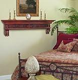 Pearl Mantels 416-60 Devonshire Fireplace Mantel