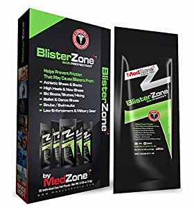 BlisterZone BLZ00125A Blister Prevention Packet (5 Pack), One Size