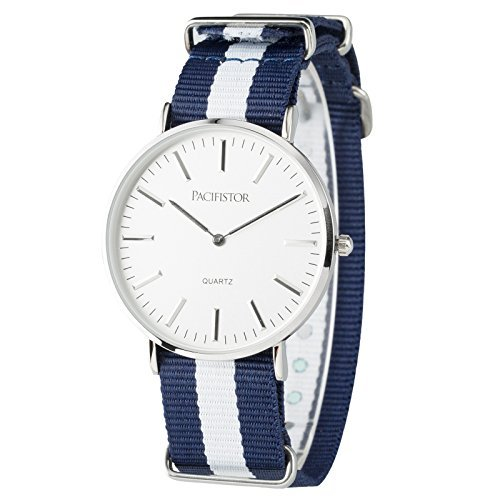 PACIFISTOR Classic Analog Stainless Striped