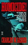 Homicide!, Charles W. Sasser, 1476784507