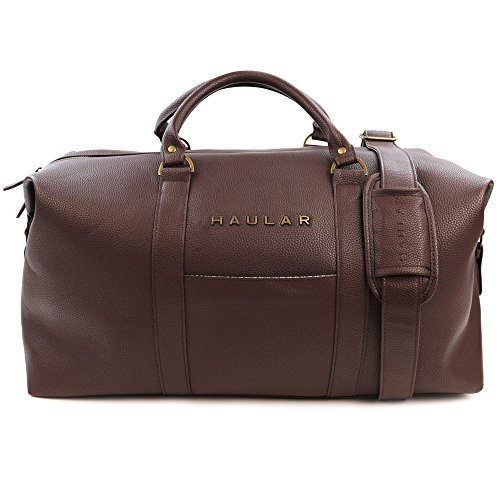 Leather Duffle Bags for Men: Amazon.com