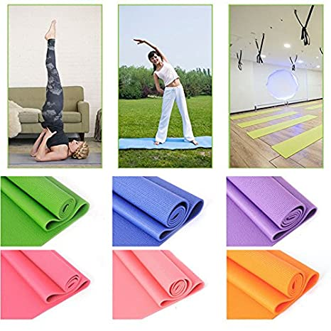 Amazon.com : Foam Yoga Mat, Anti-Tear Exercise Yoga Mat+ ...