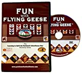 Quilting: Patchwork Schoolhouse teaches Fun with Flying Geese on DVD