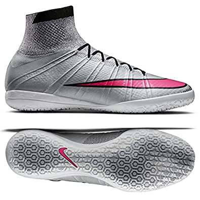 Nike MercurialX Proximo IC 718774-060 Grey/Pink/Black/White Men's Soccer Cleats (size 13)