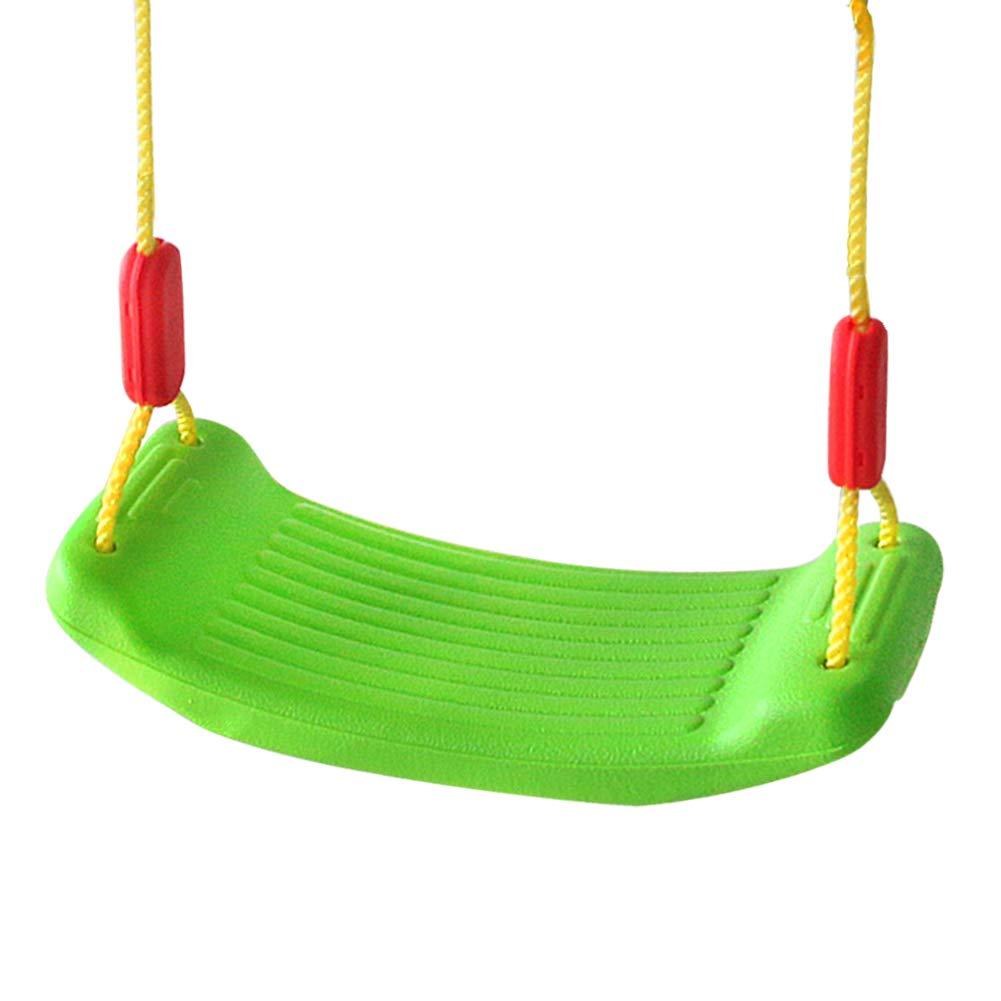 yoptote balançoire pour Enfant Siège de Jardin Balacoire Mousqueton Balancoire Vert pour Les Enfants de Plus 3 Ans
