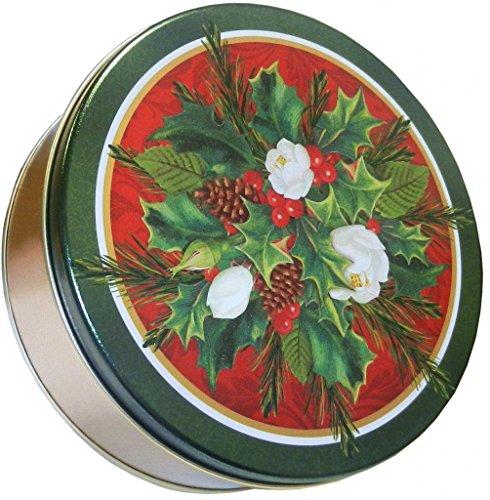 Scott's Cakes Large Empty Christmas Bouquet Tin -