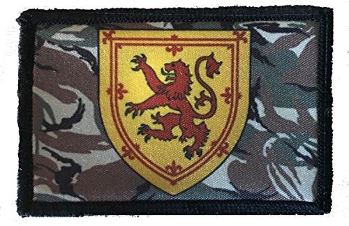 Scotland Rampant Lion Morale Patch. Perfect for your Tactical Military Army Gear, Backpack, Operator Baseball Cap, Plate Carrier or Vest. 2x3