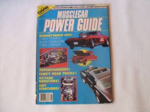 cars-magazine-issue-1-k48337-musclecar-power-guide-superchargers-chevy-head-tricks-octane-boosters-
