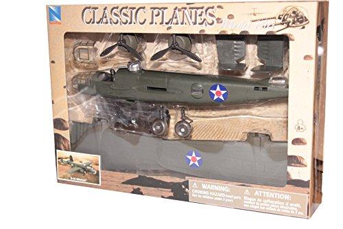 (Classic B-25 Twin Engine Aircraft Model Kit Plane Set 1/48)