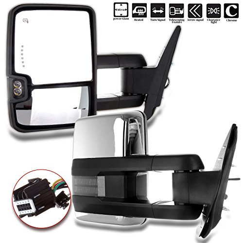 08 gmc towing mirrors - 8