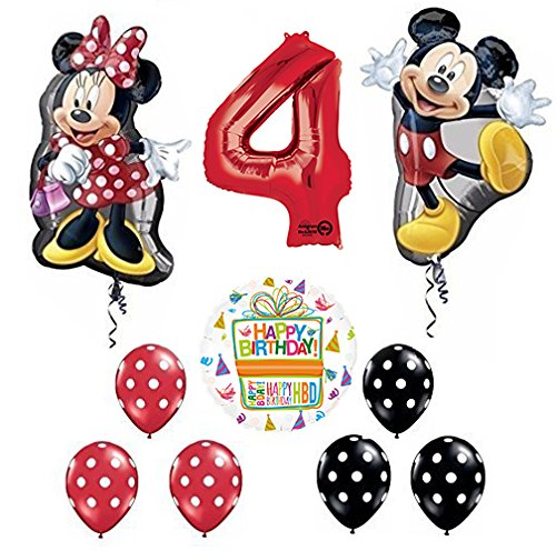 Mayflower Products Mickey and Minnie Mouse Full Body
