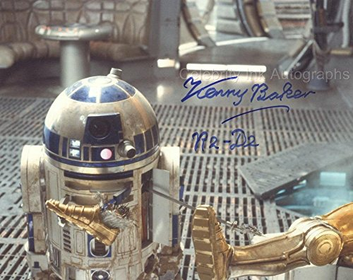KENNY BAKER as R2-D2 – Star Wars GENUINE AUTOGRAPH