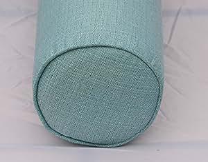 Amazon Com Dqp Round Bolster Pillow Cover Linen