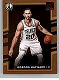 #6: 2017-18 Donruss #10 Gordon Hayward Celtics